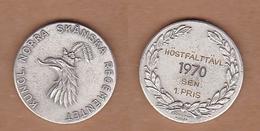AC - KUNGL NORRA SKANSKA REGEMENTET HOSTFALTTAVL 1970  SEN 1 PRIS MEDAL PLAQUETTE - Athlétisme