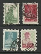 RUSSLAND RUSSIA 1925 Michel 272 & 274 & 282 & 289 O [WM 7]