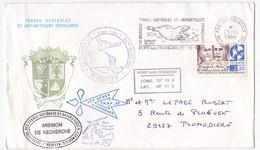 Terres Australes Et Antarctiques Françaises - 1989 - Tierras Australes Y Antárticas Francesas (TAAF)