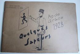 Livret De Caricatures SAPEUR école Militaire D'application Du Génie 1928 - Livres, Revues & Catalogues