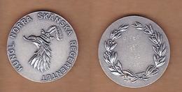 AC - KUNGL NORRA SKANSKA REGEMENTET H - FALT 1987 H 35 1 PRIS MEDAL PLAQUETTE - Athlétisme