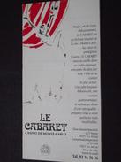 """MONACO - FESTIVAL Du CIRQUE Au """"CABARET"""", CASINO De MONTE-CARLO - Février 1998 - Dépliant - A Voir ! - Advertising"""
