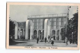 2093 02 ITALIA NUOVA MILANO LA TRIENNALE - Pubblicità Pastiglie Valda - Expositions