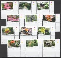 TT73 2013 NIUAFO'OU BUTTERFLIES FLORA FLOWERS !!!MICHEL 60 EURO 1SET MNH