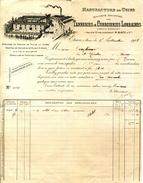 55.MEUSE.ETAIN.MANUFACTURE DE CUIRS.SOCIETE DES TANNERIES & CORROIRIES LORRAINES. - France