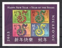 TT146 2013 NIUAFO'OU YEAR OF SNAKE 1KB MNH