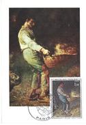 CARTE MAXIMUM 1er JOUR - N° 1672 - Le VANNEUR - MILLET - Cartes-Maximum