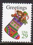 USA 1994 Christmas 29c Stocking Sheet Stamp, MNH (SG 2972) - Etats-Unis