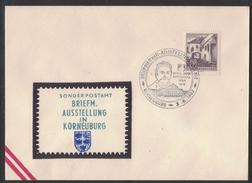 JP290  Austria, Österreich - 1962 Briefmarkenausstellung BSV Korneuburg - Affrancature Meccaniche Rosse (EMA)