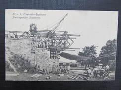 AK KORNEUBURG K.k. Eisenbahnregiment 1915 /// D*24591 - Korneuburg