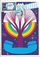 CARTE MAXIMUM 1er JOUR - N° 2317 - ANNIVERSAIRE CNET - Cartes-Maximum