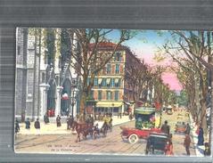 NIZZA UNA VIA DI NIZZA ..VIAGGIATA.NO.1910-FP-579 - Nice