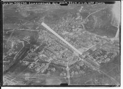 03/07/1919 Luxembourg 1 Vue Aérienne La Ville Us Army 9th Squadron 3ème Armée 14-18 Ww1 - War, Military