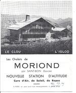 LES CHALETS DE MORIOND PAR SAINT-BON SAVOIE - LE CLOU L'IGLOO - Publicidad