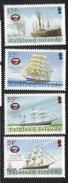 2005 Falkland Islands Maritime Heritage Ships Complete Set Of 4 MNH - Falkland Islands