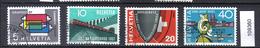 Schweiz Zst. 328 - 331, Mi. 637 - 640 O