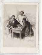 Russia Communist Leader Lenin Gorky Krupskaya Playing Chess - Rusia