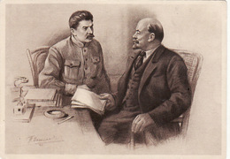Russia Communist Leader. Lenin Stalin - Rusia