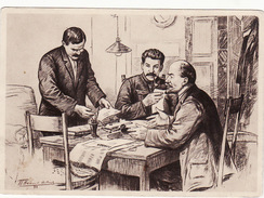 Russia Communist Leader. Lenin Stalin Molotov - Rusia