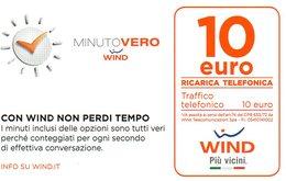 Ref.10 - Wind - € 10 - Minuto Vero - Validita 30/06/2019 - Schede GSM, Prepagate & Ricariche