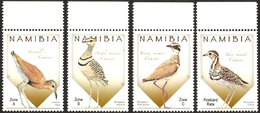 NAMIBIA 2015 Birds, Coursers, Fauna MNH