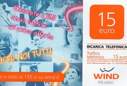 Ref.10 - Wind - € 15 - Super Noi Tutti - Validita 30/06/2015 - Schede GSM, Prepagate & Ricariche