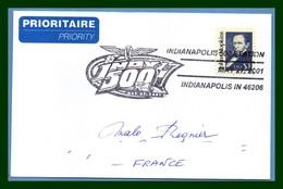 USA Indianapolis 500 Station 2001 Car Voiture Auto Automobile Sport Circuit - Automobilismo