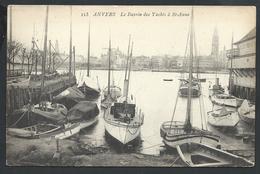 +++ CPA - ANVERS - ANTWERPEN - Le Bassin Des Yachts à Ste Anne   // - Antwerpen
