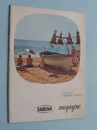 SABENA Magazine Septembre 1961 - N° 32 ( Formaat 13 X 18 Cm. / Details Zie Foto's ) ! - Reiseprospekte