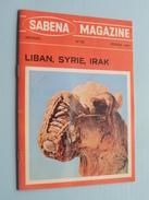 SABENA Magazine Fevrier 1969 - N° 82 ( Formaat 13 X 18 Cm. / Details Zie Foto's ) ! - Dépliants Touristiques