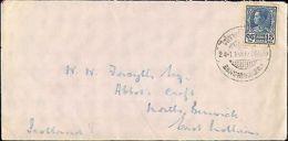 1920's THAILAND SINGLE TO SCOTLAND - Francobolli