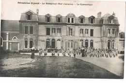 CPA 14 / LE HOME Sur MER /  PREVENTORIUM SAINT-JOSEPH / LA GYMNASTIQUE / - Cabourg