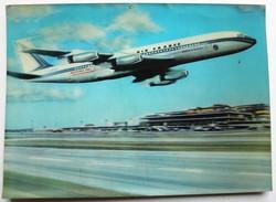 Carte Effet 3D AIR FRANCE Boeing 707 Orly Carte Visio-relief Vintage 1967 - 1946-....: Era Moderna