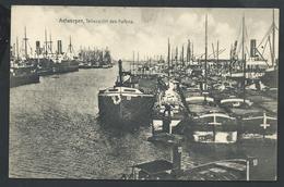 +++ CPA - ANVERS - ANTWERPEN - Teilansicht Des Hafens   // - Antwerpen