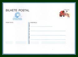 Portugal Bilhete Postal Stationery Entier ** Felicidades 1989 Camion Poste - Cars