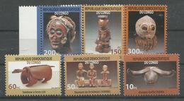 CONGO - MNH - Art - Statuettes - Masks
