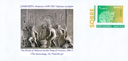 SPAIN, 2017 Paintings Nudes, VULCAN Mythology, LOMBARDO, Antonio (1458-1516) Italian Sculptor