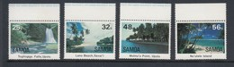Samoa 1984 Scenic Views - MUH Set 4