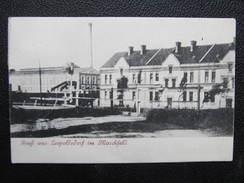 AK LEOPOLDSDORF Im Marchfeld 1906 /// D*24625 - Gänserndorf