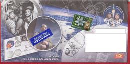 SPACE, COSMOS, POPOV,  PRUNARIU, SPACE SHUTTLE,  ROMANIA POSTAL STATIONERY
