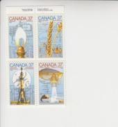 Canada(Kanada) Cat.Michel 1086/1089 Viererblock **