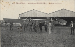 Etampes - Aerodrome Bleriot - Quelques Aviateurs - Etampes