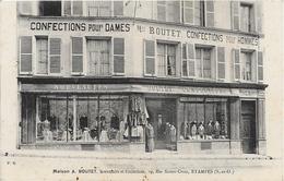 Etampes - Maison A. Boutet , Nouveautes Et Confections 29 Rue Sainte Croix Etampes - Etampes