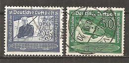 DR 1938 // Michel 669/670 O (3099) - Oblitérés