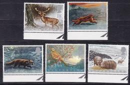 GB, 1992, 1372/76, Seasons: Winter. MNH ** - Ungebraucht
