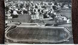 CPSM LANNEMEZAN 65 LE STADE MUNICIPAL EN AVION SUR ED LA CIGOGNE 1960 - Stades
