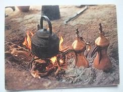L58 Postcard Oman - Bedouin Coffee-pots - Oman