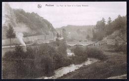 MODAVE- Le Pont De Vyle Et Le Camp Romain - Circulé - Circulated - Gelaufen - 1930.