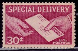 United States, USA, 1957, Special Delivery, 30c, Scott# E21, MNH - Vereinigte Staaten
