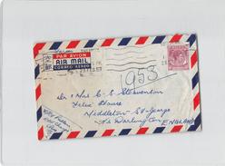 2370 01 MALAYA SINGAPORE TO ENGLAND - Singapore (...-1959)